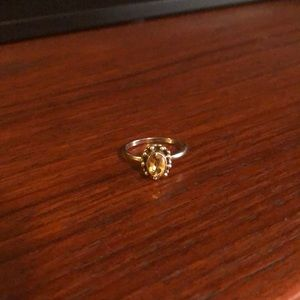 Jewelry - Sterling Silver Citrine ring